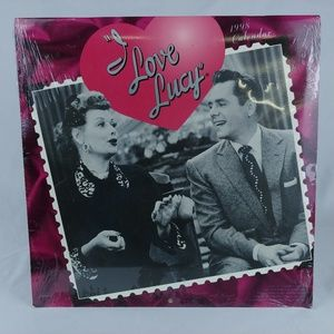 1998 I Love Lucy Wall Calendar Lucille Ball Sealed